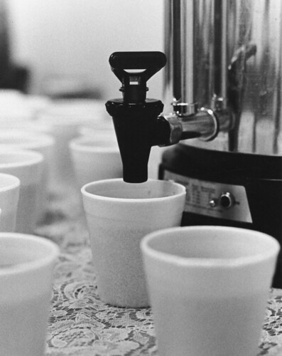 Photograph of Coffee Break at National Archives and Records Service (NARS) Conference in the Late 1970s   by The U.S. National Archives