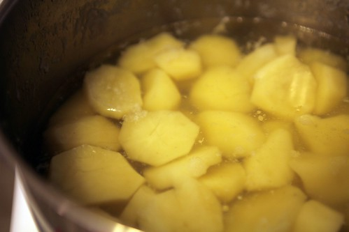 baba's boiling potatoes | by thepinkpeppercorn
