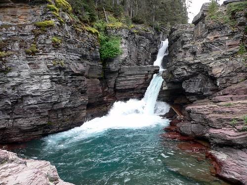 St. Mary's Falls, Glacier National Park, Montana