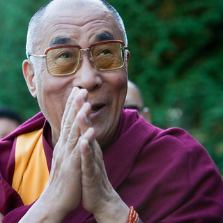 The Dalai Lama @ The Vancouver Peace Summit | by Kris Krug