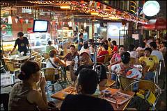 dining on Jalan Jaksa - Jakarta, Indonesia