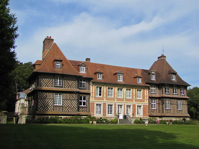 Half-timbered mansion
