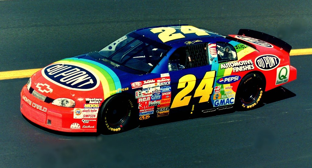Jeff Gordon 1997 Dupont Chevrolet Nascar Photography By D Flickr