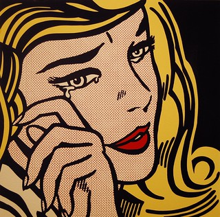 Crying Girl 1964, Roy Lichtenstein | by Micah & Erin