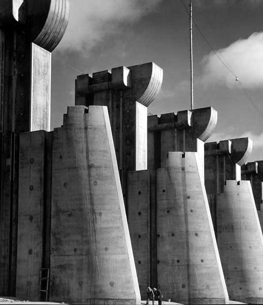 Margaret Bourke-White: Presa de Fort Peck (1936).