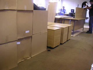 Office move   by ☺ Lee J Haywood