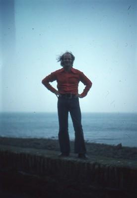 Tony in Minehead 1973