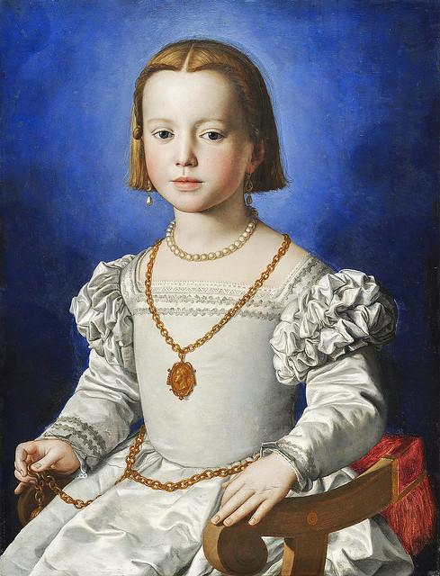 Bronzino - Portrait of Maria di Cosimo I de' Medici [~1545]