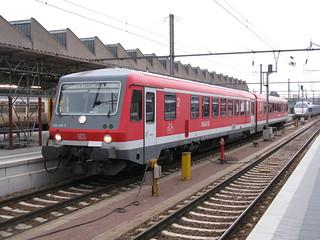 DB Class 628/928 DMU no. 928 488-6, Luxembourg | by bindonlane