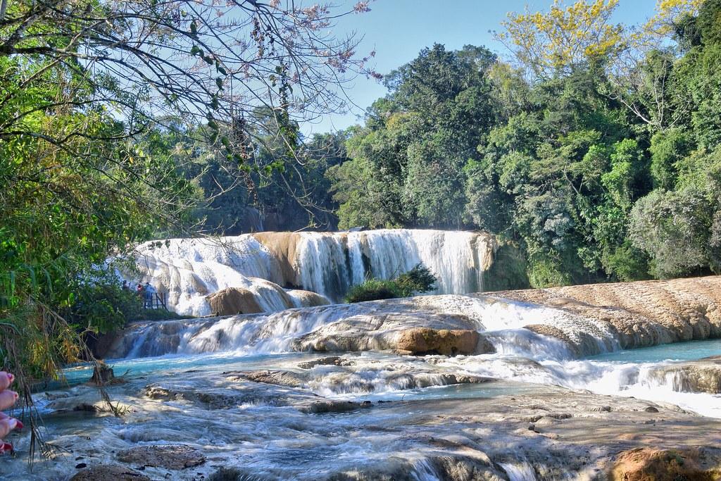 Cascadas de aguas azules, Chiapas