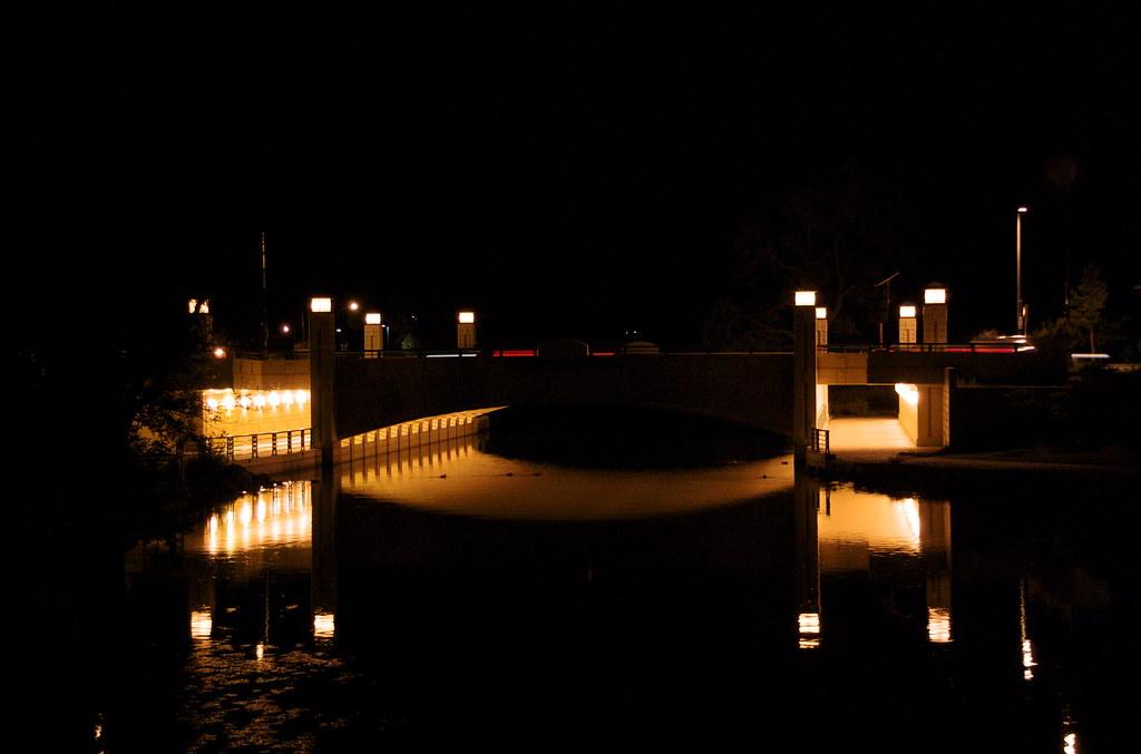 Bridge Over Yahara River by nataraj_hauser / eyeDance