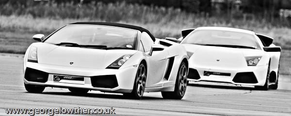 Lamborghini Mucielago LP640 and Gallardo Spyder