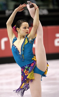 Sasha Cohen, aiming for olympic gold @ Vancouver 2010