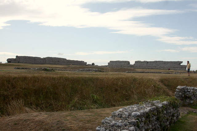 Richborough Roman Fort, Kent