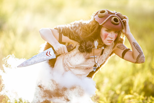 San by LadeeDanger Colossalcon 2015 Princess Mononoke Cosplay