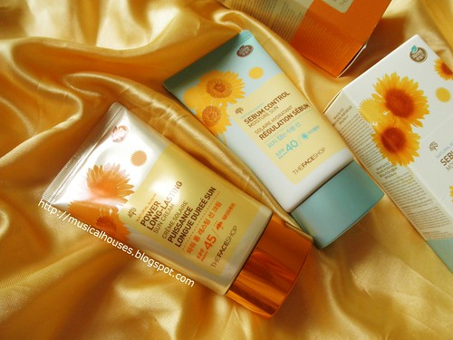 The Face Shop Sunscreen Natural Sun Power Long Lasting Sebum Control Tubes | by musicalhouses