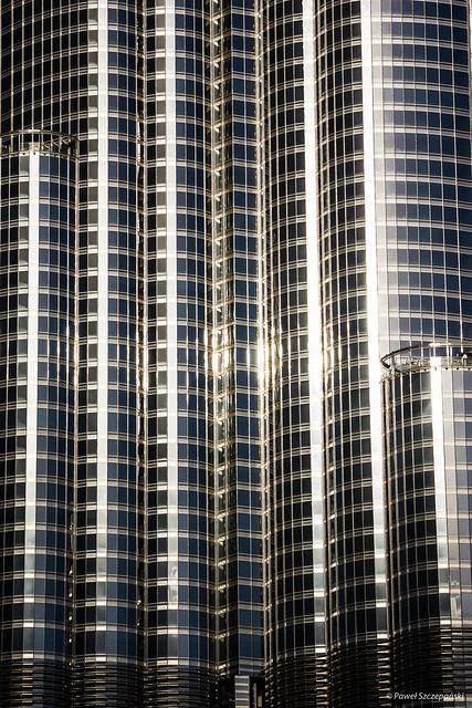 Close-up of Burj Khalifa