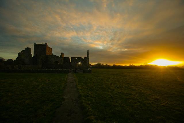 Sundown at the Abbey