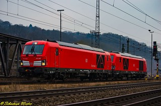 247 903-8 mit 247 902-0 durch Eisenach am 09.02.2017 | by Photography Sebastian Winter