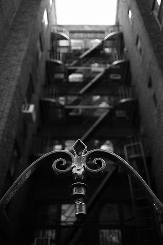 "Image titled ""Fire Escapes #9, NYC."""