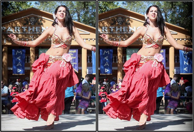 Gypsy Dance Theatre, Texas Renaissance Festival, Todd Mission, Texas 2011.10.15