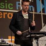 Fri, 14/03/2014 - 3:44pm - At the Public Radio Rocks Day Stage, March 14, 2014. Photo by Laura Fedele