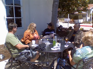 lunch with new friends