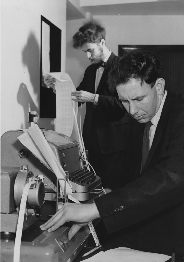 Statistics Machine Room, 1964