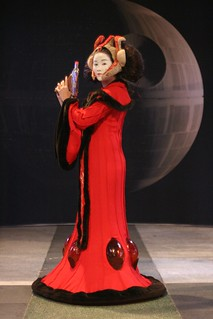 Queen Amidala and the Death Star | by cindyli