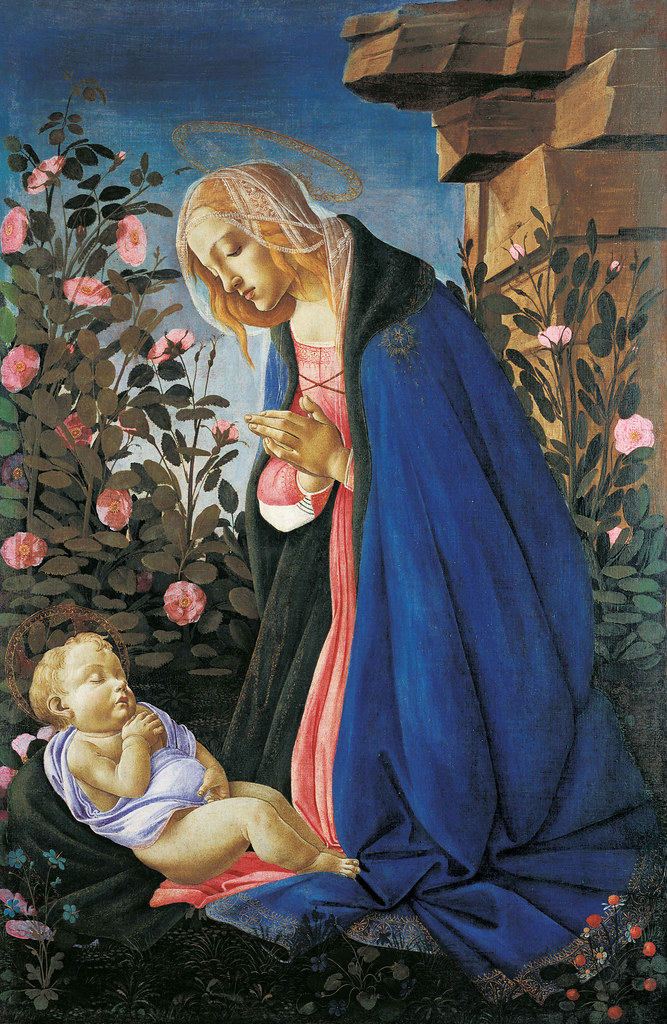 "Sandro Botticelli: Adoration of the Christ Child (""Wemyss Madonna"")"