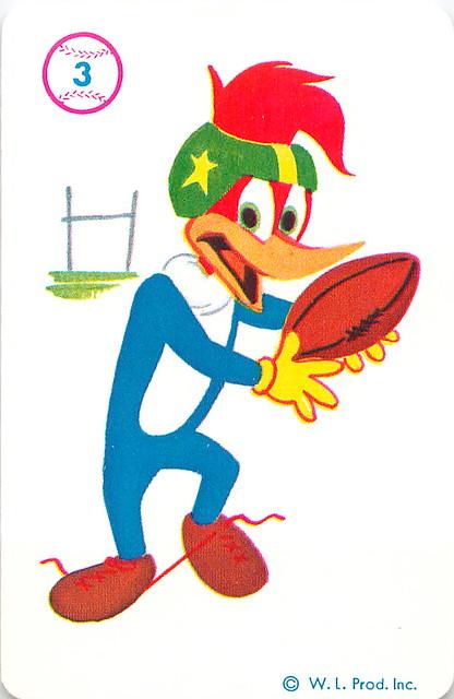 1964 Woody Woodpecker Card Game - Woody Woodpecker Card ...