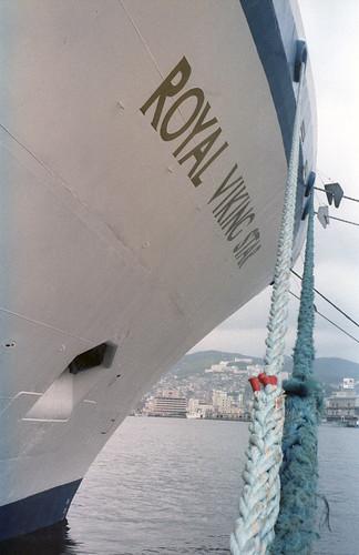 MS Royal Viking Star Cruise Ship 1987 | by Dave Dugdale