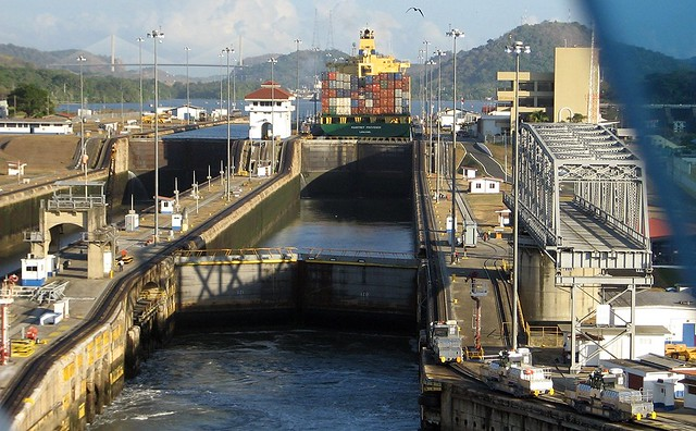 Millaflores Locks - Panama Canal