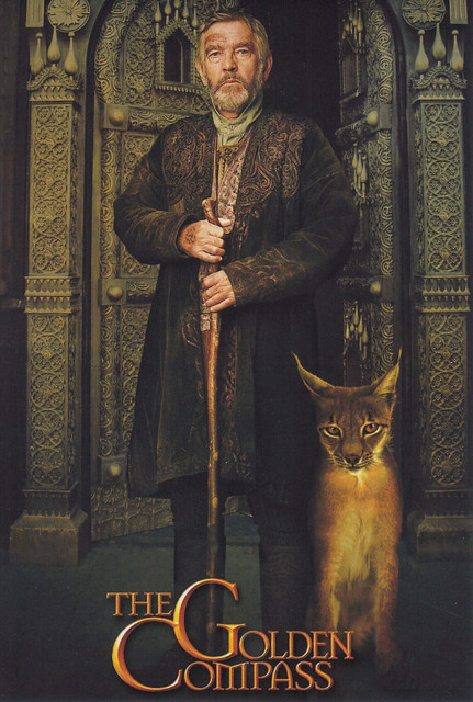 Tom Courtenay The Golden Compass Movie Postcard