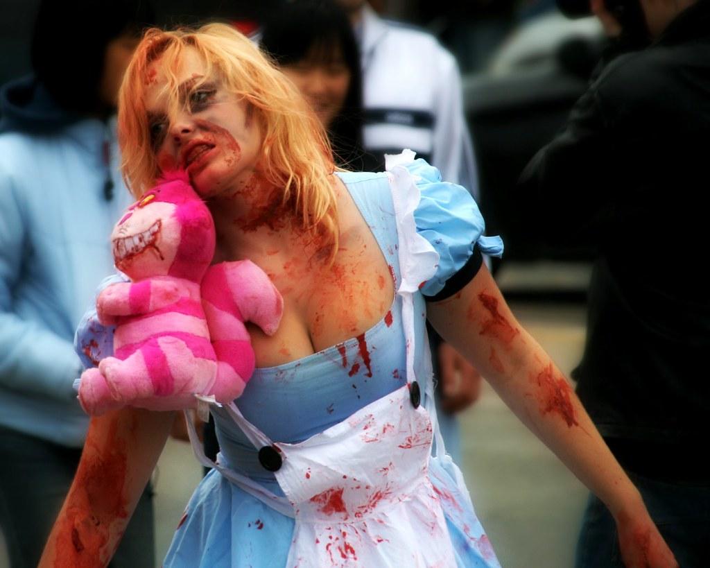 Zombie Alice by Paul Henman