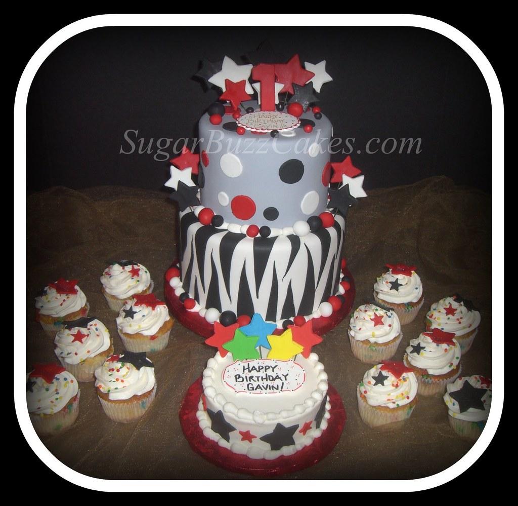 Superb Rock Roll Birthday Cake Carol Flickr Funny Birthday Cards Online Overcheapnameinfo