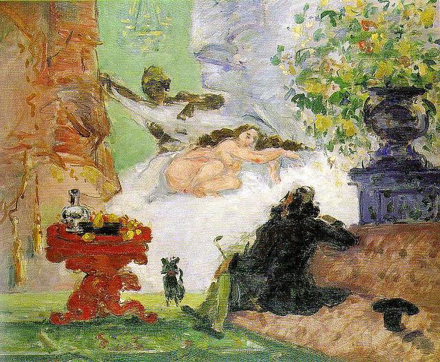 Paul Cézanne: A modern Olympia (1873-74)