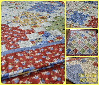 janet's rowbyrow quilt