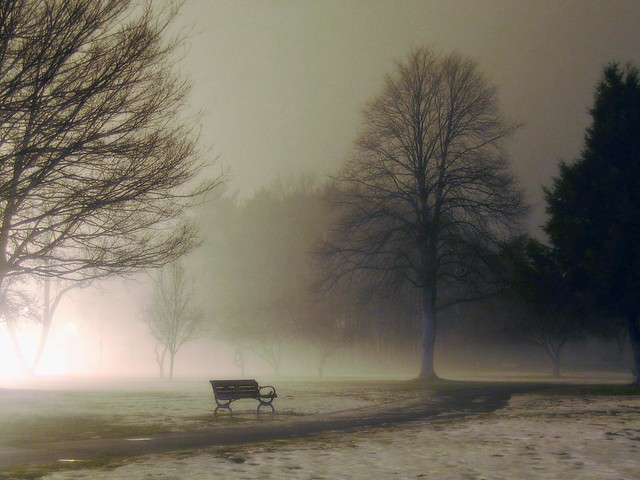 Christmas night at Lake Quannapowitt; Wakefield, MA (2005)