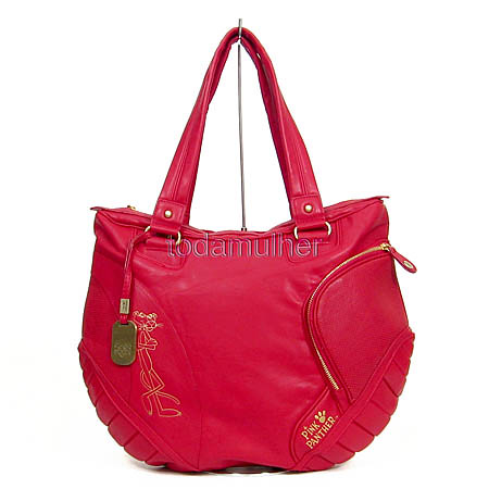 66b289a86 ... P9G105VM - Bolsa PANTERA COR DE ROSA coleção ´´ vermelha- Lançamento  primavera/verão