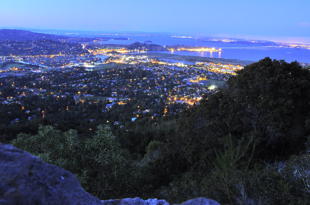 Christmas Tree Hill.Southern Marin Night Shot From Christmas Tree Hill Flickr