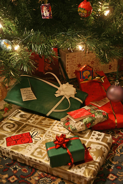 Christmas Presents Under Tree.Christmas Presents Under The Tree Christmas Presents Under