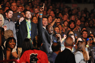 Sam's Associates Lead the Sam's Club Cheer During the 2011 Walmart Shareholders' Meeting | by Walmart Corporate