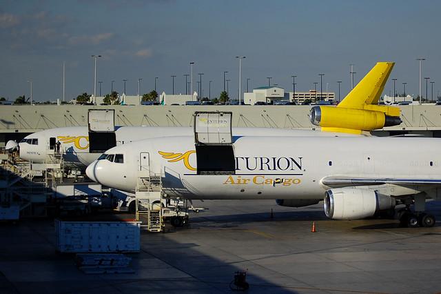 Centurion Air Cargo DC-10s