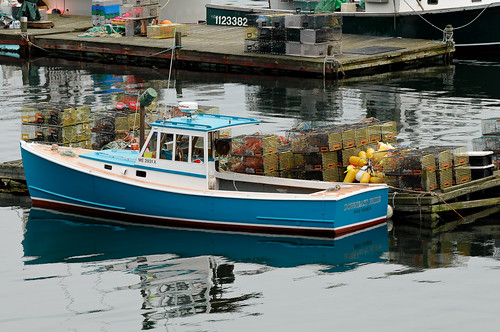 Lobster boat in Northeast Harbor | by bumeister1