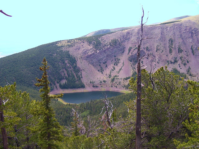 RAINBOW LAKE COLORADO VIEWED FROM NORTH EAST