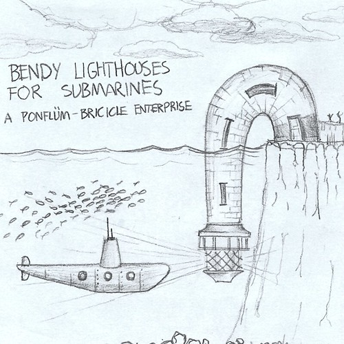 Bendy Lighthouse for Submarines | by Andy Brice