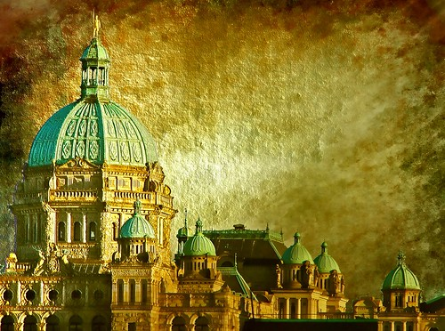 British Columbia  Parliament by Nick Kenrick.