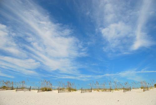 Beautiful Blue Sky on the Beach   by faungg's photos