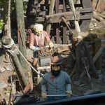Sul trenino della miniera